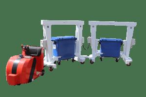 Intra-logistics transport: bins take the train…