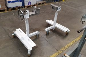 Mobile trestle: when handling pairs with industrial ergonomics